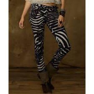 Ralph Lauren Zebra Print Pants Size 26 NWT